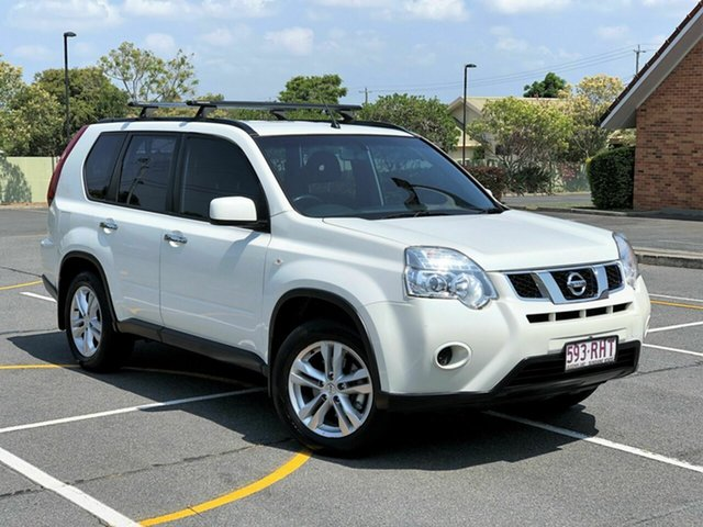 Used Nissan X-Trail T31 Series IV ST 2WD, 2010 Nissan X-Trail T31 Series IV ST 2WD White 1 Speed Constant Variable Wagon