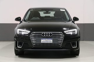 2019 Audi A4 8W MY19 35 TFSI S Tronic Sport Brilliant Black 7 Speed Auto Dual Clutch Sedan.