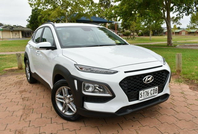 Demo Hyundai Kona OS.3 MY20 Active 2WD, 2019 Hyundai Kona OS.3 MY20 Active 2WD Chalk White 6 Speed Sports Automatic Wagon