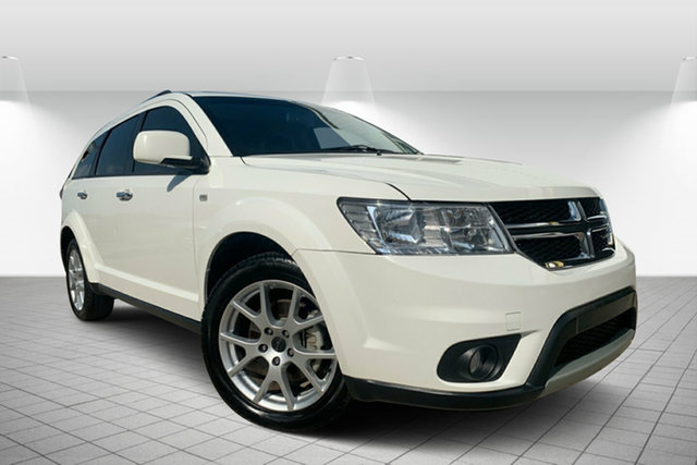 Used Dodge Journey JC MY14 R/T, 2014 Dodge Journey JC MY14 R/T White 6 Speed Automatic Wagon