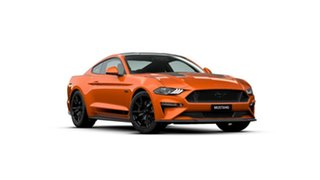 2019 Ford Mustang FN 2020MY GT Fastback SelectShift RWD Twister Orange 10 Speed Sports Automatic.