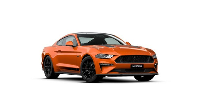 New Ford Mustang FN 2020MY GT Fastback SelectShift RWD, 2019 Ford Mustang FN 2020MY GT Fastback SelectShift RWD Twister Orange 10 Speed Sports Automatic