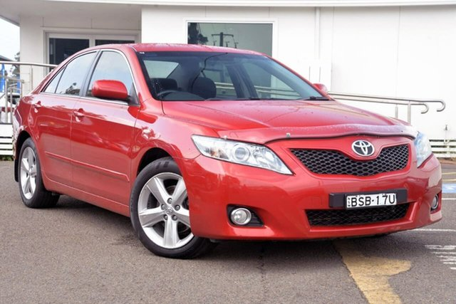 Used Toyota Camry ACV40R MY10 Touring, 2010 Toyota Camry ACV40R MY10 Touring Red 5 Speed Automatic Sedan