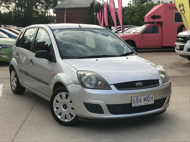 Used Ford Fiesta WQ LX, 2006 Ford Fiesta WQ LX Silver 4 Speed Automatic Hatchback