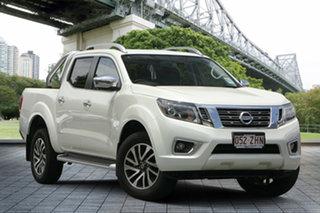 2019 Nissan Navara D23 S3 ST-X 4x2 White Diamond 7 Speed Sports Automatic Utility.