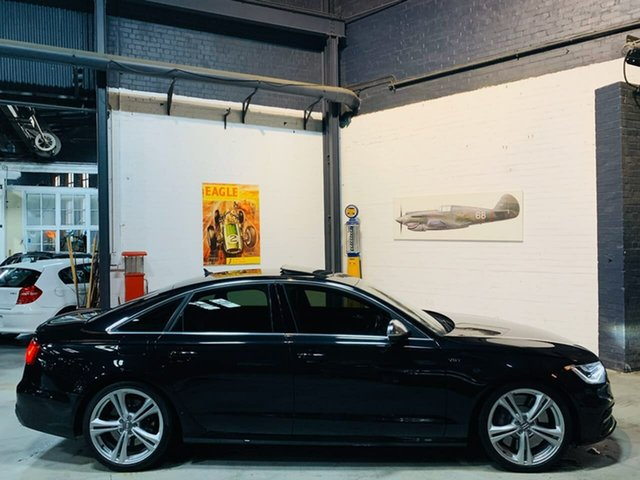 Used Audi S6 4G MY13 S Tronic Quattro, 2013 Audi S6 4G MY13 S Tronic Quattro Black 7 Speed Sports Automatic Dual Clutch Sedan