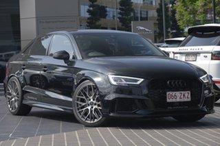 2017 Audi RS 3 8V MY17 S Tronic Quattro Black 7 Speed Sports Automatic Dual Clutch Sedan.