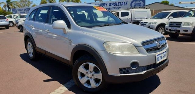 Used Holden Captiva CG MY09 SX, 2008 Holden Captiva CG MY09 SX 5 Speed Sports Automatic Wagon