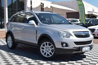 2013 Holden Captiva CG Series II MY12 5 AWD Silver 6 Speed Sports Automatic Wagon.