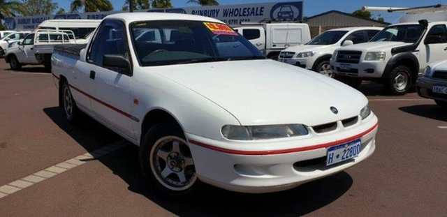 Used Holden Commodore VR S, 1993 Holden Commodore VR S White 4 Speed Automatic Utility