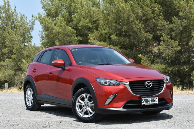 Used Mazda CX-3 DK2W7A Maxx SKYACTIV-Drive, 2016 Mazda CX-3 DK2W7A Maxx SKYACTIV-Drive Red 6 Speed Sports Automatic Wagon