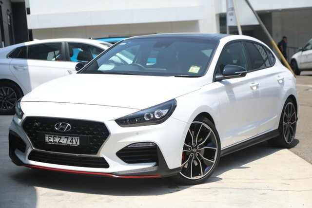 Demo Hyundai i30 PDe.3 MY20 N Fastback Performance, 2019 Hyundai i30 PDe.3 MY20 N Fastback Performance Polar White 6 Speed Manual Coupe