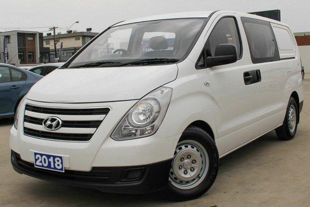 Used Hyundai iLOAD TQ3-V Series II MY18 Crew Cab, 2018 Hyundai iLOAD TQ3-V Series II MY18 Crew Cab White 5 Speed Automatic Van