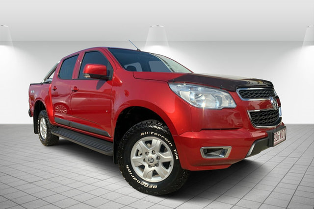 Used Holden Colorado RG MY16 LS-X Crew Cab, 2016 Holden Colorado RG MY16 LS-X Crew Cab Sizzle 6 Speed Sports Automatic Utility
