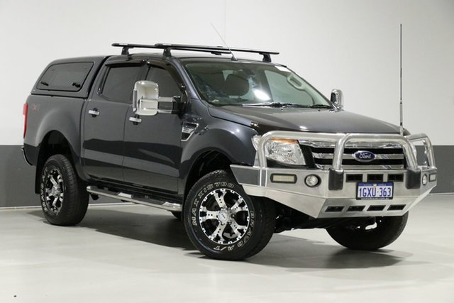 Used Ford Ranger PX XLT 3.2 (4x4), 2013 Ford Ranger PX XLT 3.2 (4x4) Grey 6 Speed Automatic Dual Cab Utility