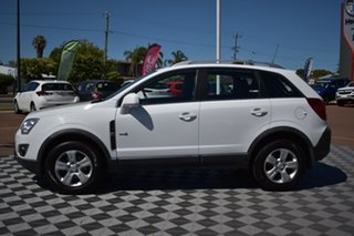 2011 Holden Captiva CG Series II 5 White 6 Speed Sports Automatic Wagon