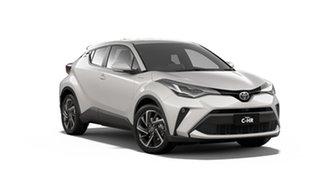 2020 Toyota C-HR NGX50R Koba S-CVT AWD Crystal Pearl & Black Roof 7 Speed Constant Variable Wagon.