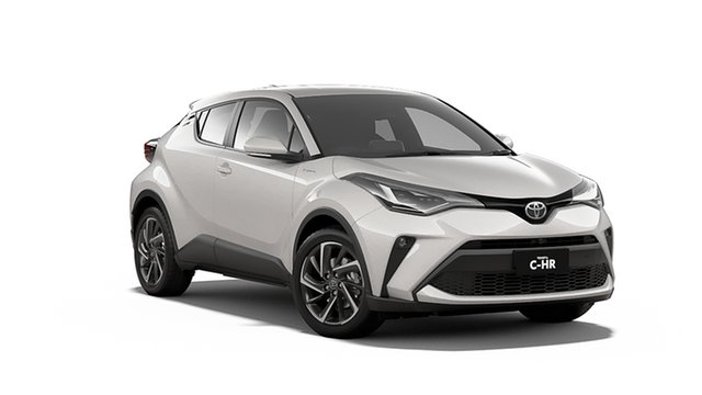 New Toyota C-HR NGX50R Koba S-CVT AWD Albion, 2020 Toyota C-HR NGX50R Koba S-CVT AWD Crystal Pearl & Black Roof 7 Speed Constant Variable Wagon