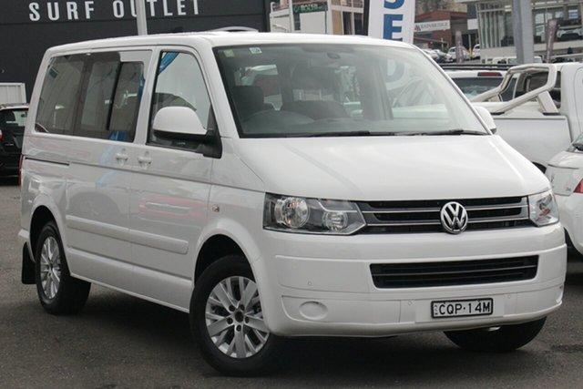 Used Volkswagen Multivan T5 MY14 TDI340 DSG Comfortline, 2014 Volkswagen Multivan T5 MY14 TDI340 DSG Comfortline White 7 Speed Sports Automatic Dual Clutch