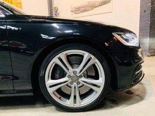 2013 Audi S6 4G MY13 S Tronic Quattro Black 7 Speed Sports Automatic Dual Clutch Sedan.