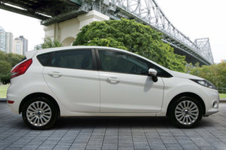 2013 Ford Fiesta WT LX PwrShift White 6 Speed Sports Automatic Dual Clutch Hatchback.