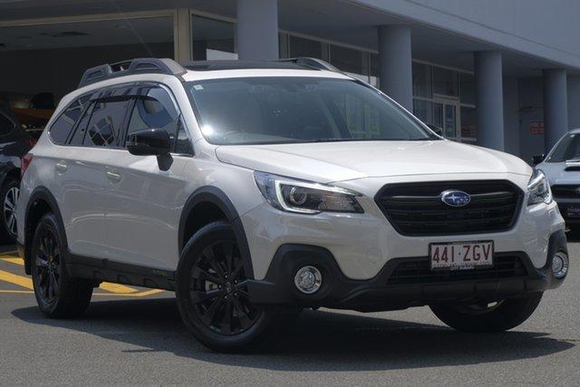 Demo Subaru Outback B6A MY19 2.5i-X CVT AWD, 2019 Subaru Outback B6A MY19 2.5i-X CVT AWD White Crystal 7 Speed Constant Variable Wagon
