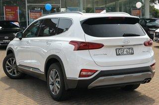 2019 Hyundai Santa Fe TM.2 MY20 Elite CRDi (AWD) White Cream 8 Speed Automatic Wagon.