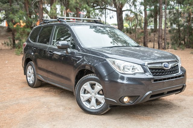 Used Subaru Forester S4 MY15 2.5i-L CVT AWD, 2015 Subaru Forester S4 MY15 2.5i-L CVT AWD Grey 6 Speed Constant Variable Wagon