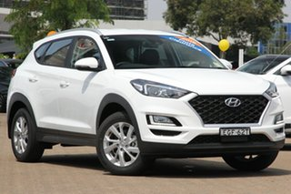 2019 Hyundai Tucson TL4 MY20 Active (2WD) Pure White 6 Speed Automatic Wagon.