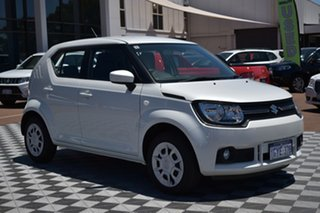 2019 Suzuki Ignis MF GL Pure White 5 Speed Manual Hatchback.