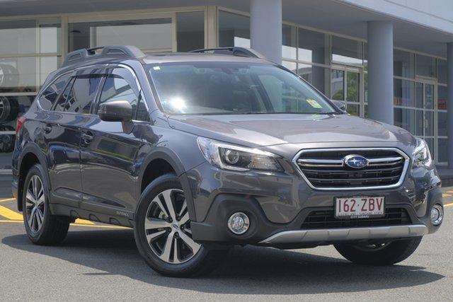 Demo Subaru Outback B6A MY19 2.5i CVT AWD Premium, 2018 Subaru Outback B6A MY19 2.5i CVT AWD Premium Magnetite Grey 7 Speed Wagon