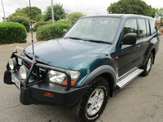 2001 Mitsubishi Pajero NM GLX LWB (4x4) 5 Speed Auto Sports Mode Wagon