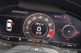 2017 Audi RS 3 8V MY17 S Tronic Quattro Black 7 Speed Sports Automatic Dual Clutch Sedan