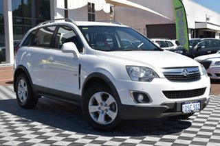 2011 Holden Captiva CG Series II 5 White 6 Speed Sports Automatic Wagon.