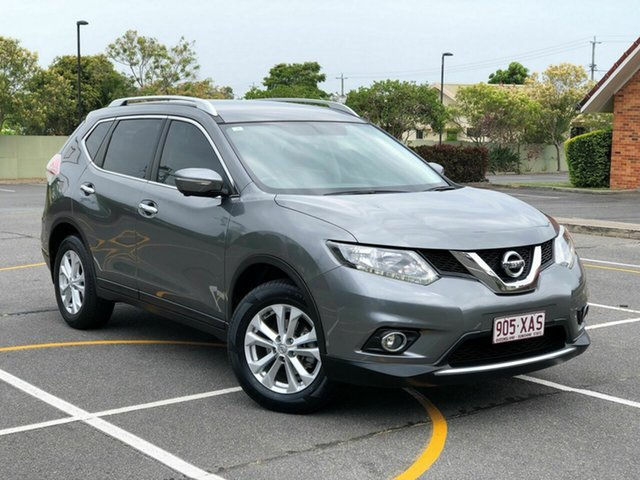 Used Nissan X-Trail T32 ST-L (FWD), 2016 Nissan X-Trail T32 ST-L (FWD) Grey Continuous Variable Wagon