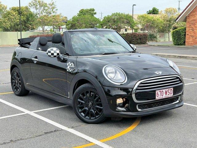 Used Mini Convertible F57 Cooper, 2016 Mini Convertible F57 Cooper Black 6 Speed Automatic Convertible