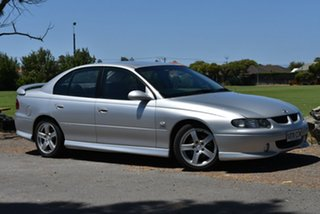 2002 Holden Commodore VX II SS Silver 4 Speed Automatic Sedan.