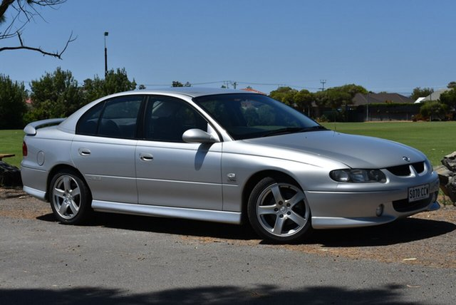 Used Holden Commodore VX II SS, 2002 Holden Commodore VX II SS Silver 4 Speed Automatic Sedan