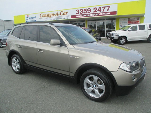 Used BMW X3 E83 MY07 si Steptronic, 2007 BMW X3 E83 MY07 si Steptronic Gold 6 Speed Sports Automatic Wagon