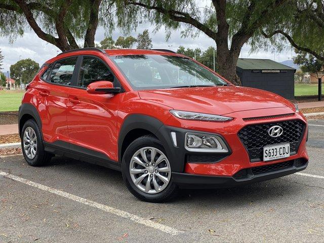 Demo Hyundai Kona OS.3 MY20 Go 2WD, 2019 Hyundai Kona OS.3 MY20 Go 2WD Tangerine Comet 6 Speed Sports Automatic Wagon