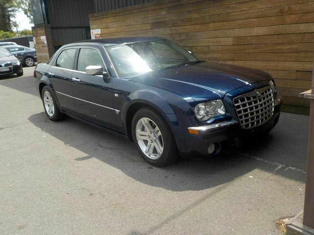 Used Chrysler 300C MY2007 Signature, 2007 Chrysler 300C MY2007 Signature Blue 5 Speed Sports Automatic Sedan