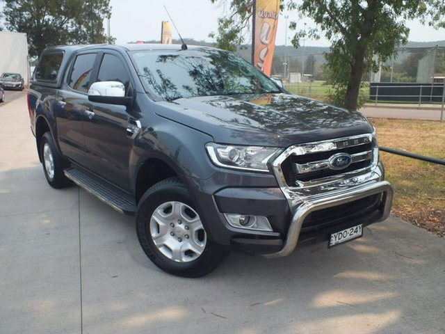 Used Ford Ranger PX MkII XLT Super Cab 4x2 Hi-Rider, 2016 Ford Ranger PX MkII XLT Super Cab 4x2 Hi-Rider Grey 6 Speed Sports Automatic Utility