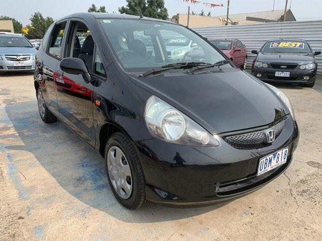 Used Honda Jazz GD MY05 GLi, 2005 Honda Jazz GD MY05 GLi Black 1 Speed Hatchback
