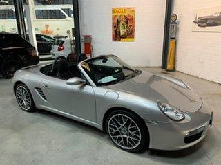 2007 Porsche Boxster 987 MY08 Silver 5 Speed Manual Convertible