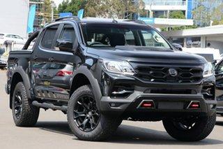 2019 Holden Special Vehicles Colorado RG MY20 SportsCat Pickup Crew Cab SV Mineral Black 6 Speed.