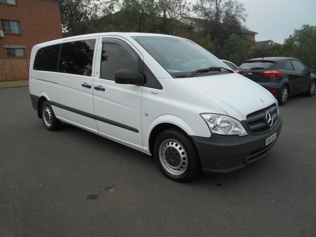 Used Mercedes-Benz Vito MY11 116 CDI LWB, 2013 Mercedes-Benz Vito MY11 116 CDI LWB White 5 Speed Automatic Van