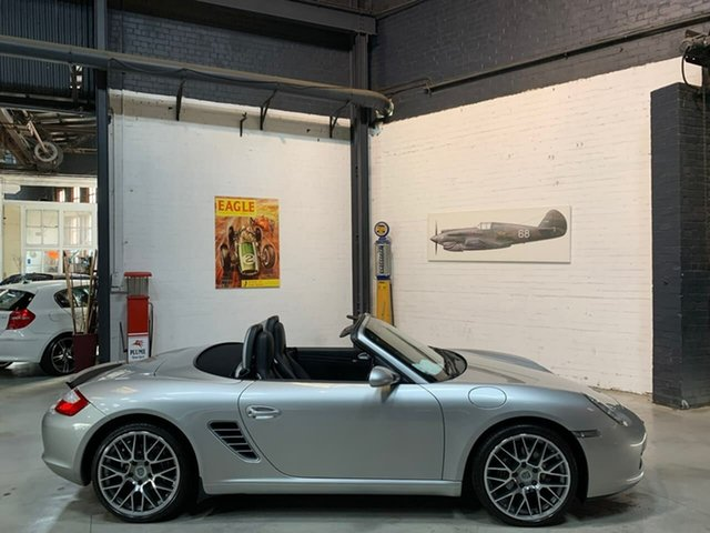 Used Porsche Boxster 987 MY08 , 2007 Porsche Boxster 987 MY08 Silver 5 Speed Manual Convertible