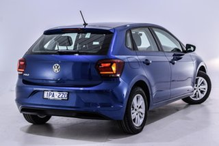 2019 Volkswagen Polo AW MY19 85TSI DSG Comfortline Blue 7 Speed Sports Automatic Dual Clutch.