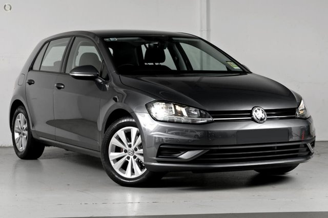 Demo Volkswagen Golf 7.5 MY19.5 110TSI DSG Trendline, 2019 Volkswagen Golf 7.5 MY19.5 110TSI DSG Trendline Grey 7 Speed Sports Automatic Dual Clutch