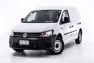 2019 Volkswagen Caddy 2KN MY19 TDI250 Maxi DSG White 6 Speed Sports Automatic Dual Clutch Van.